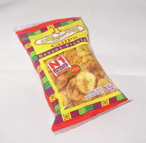 Chips bananes plantain doux 85g Mister Ho MR