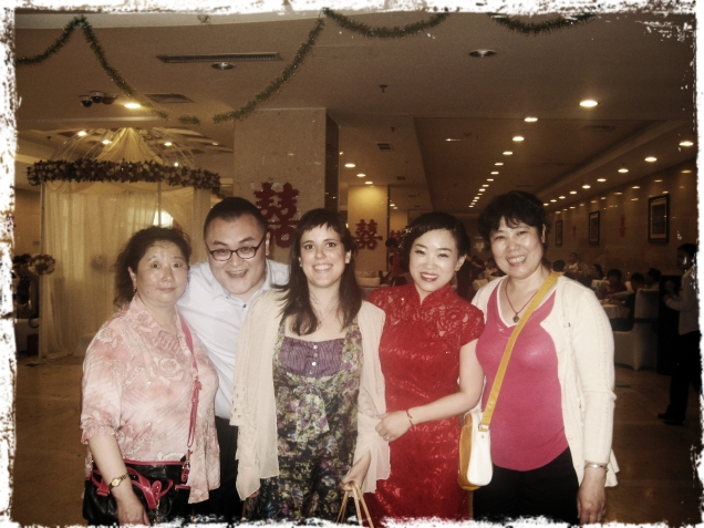 Caterina ad un matrimonio cinese
